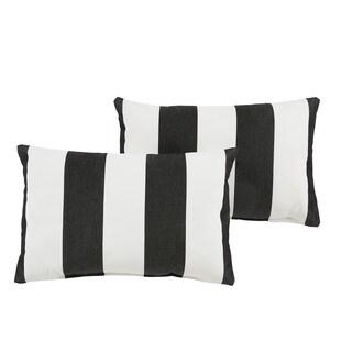 Black Sunbrella Outdoor Pillows 17 4 Punchchris De