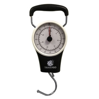 GoGreen Analog Black Luggage Scale with Hook