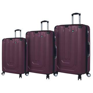 Mia Toro ITALY Corazzato 3-piece Hardside Spinner Luggage Set