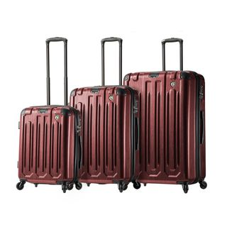 Mia Toro ITALY Lustro 3-piece Hardside Spinner Luggage Set