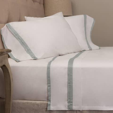 Luster Banded Pillowcase Set