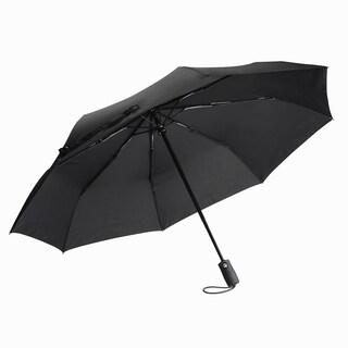 Black Automatic Travel Umbrella