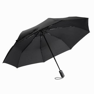 Black Automatic Travel Umbrella
