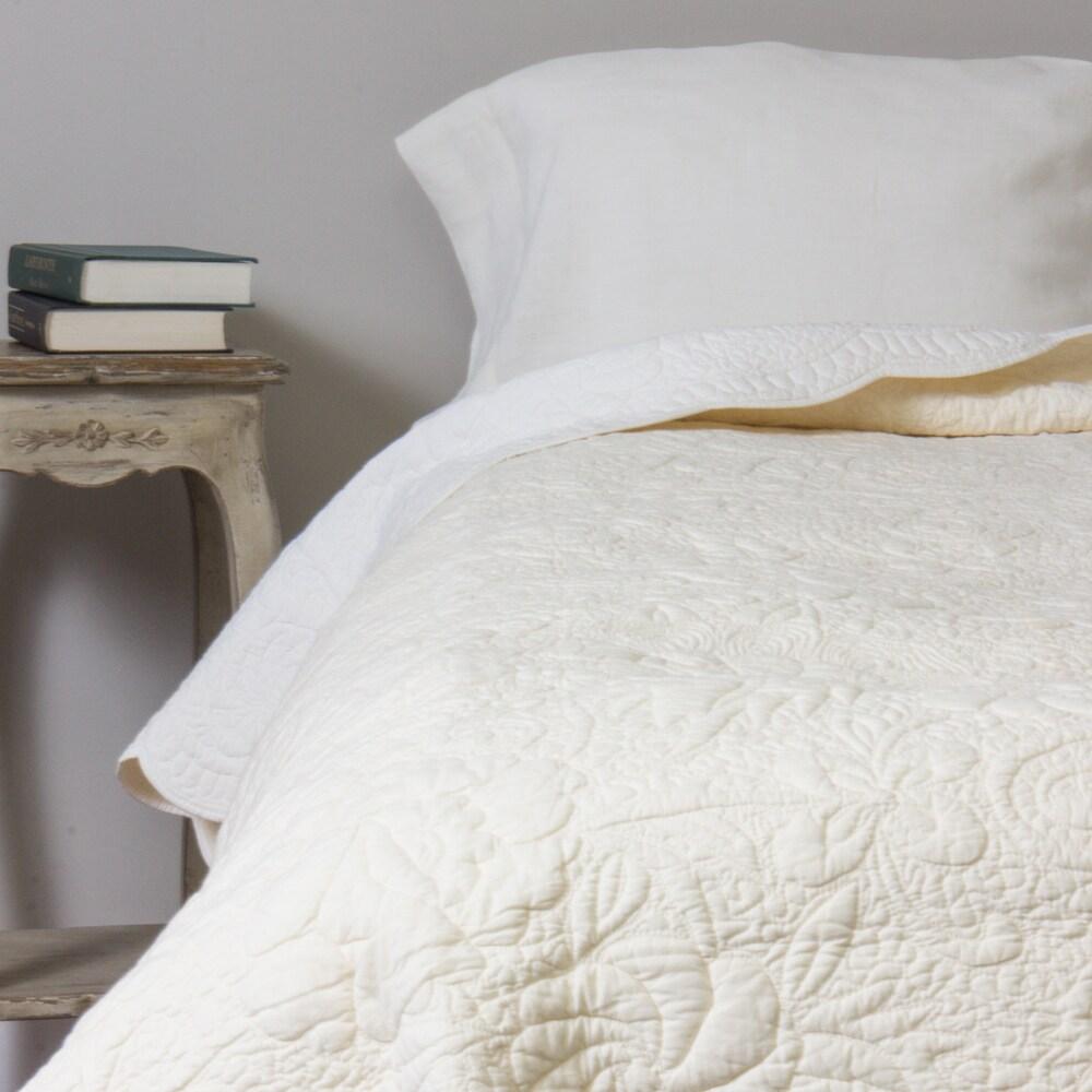 Angelique Cotton Quilt Overstock 14720688 Twin