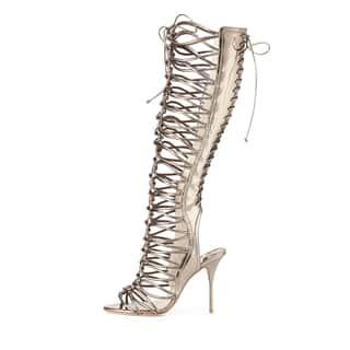 Sophia Webster Metallic Gladiator Boots 38 https://ak1.ostkcdn.com/images/products/14720763/P21249886.jpg?impolicy=medium