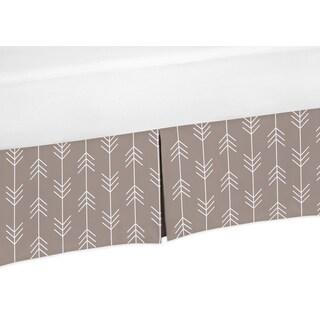Sweet Jojo Designs Outdoor Adventure Collection Cotton Arrow Print Crib Skirt
