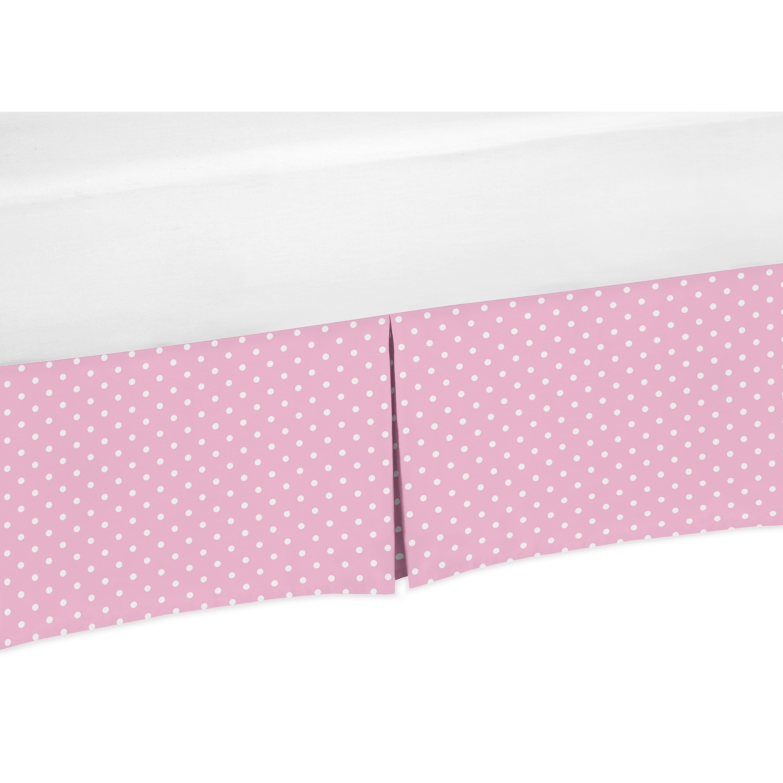 JoJo Designs Skylar Collection Pink and White Polka Dot C...