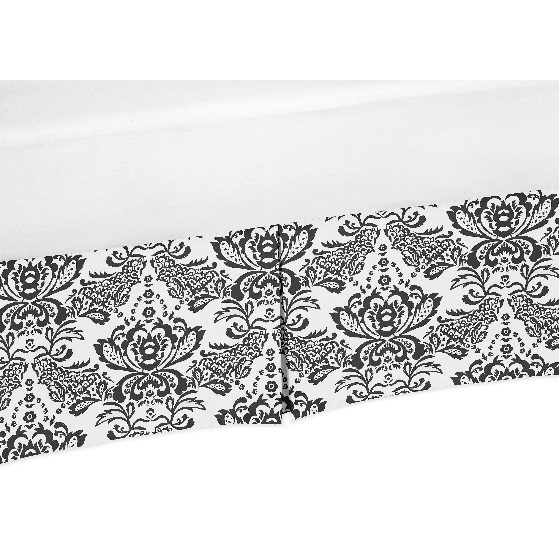 JoJo Designs Sophia Collection Black-and-White Damask Pri...