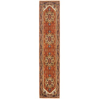 ecarpetgallery Hand Knotted Serapi Heritage Brown Wool Rug