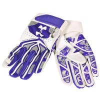 Under Armour Boys' Youth White/Royal Grey Motive Batting Glove