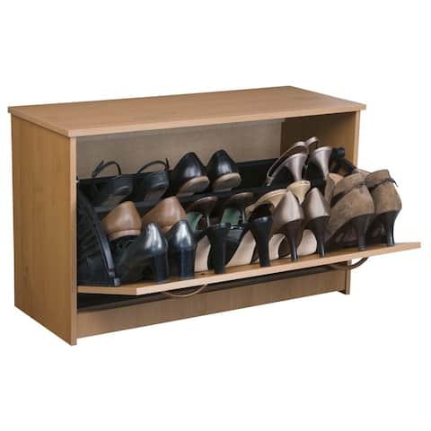 Venture Horizon Home Entryway Single Shoe Chest - N/A