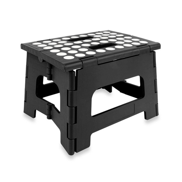 Shop 9 Inch Folding Step Stool With Anti Skid Pads Free