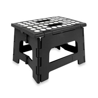 9-inch Folding Step Stool with Anit-skid Pads