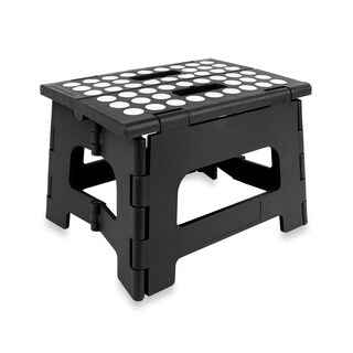 9-inch Folding Step Stool with Anti-skid Pads