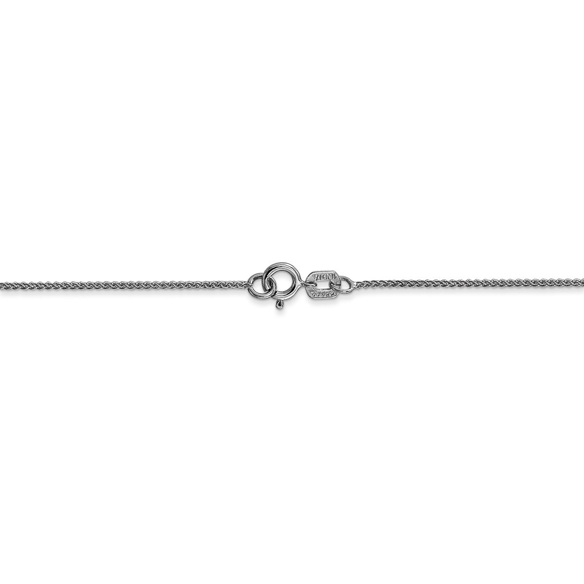 14k 0.80mm Spiga Pendant Chain