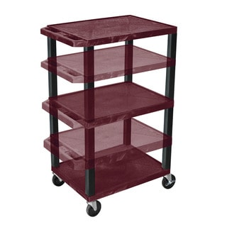 Offex Home Office Adjustable-height Tuffy Multi-purpose Cart