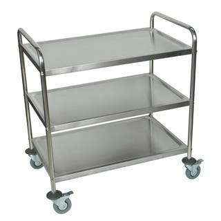 Offex Stainless Steel 37-inch Three Shelf Utility Cart https://ak1.ostkcdn.com/images/products/14721611/P21250691.jpg?impolicy=medium