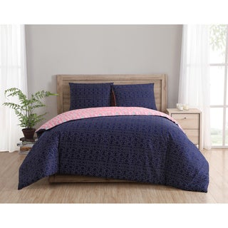 Clairebella Dreamcatcher Reversible 100% Cotton 3-piece Duvet Cover Set