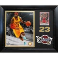 LeBron James Cleveland Cavaliers 11-inch x 14-inch Card/Patch Framed Display