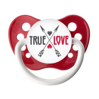 Ulubulu True Love Red Classic Expression Pacifier 0-6 Months