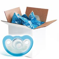 JollyPop Blue Vanilla Scented Silicone Pacifier 0-3 Months