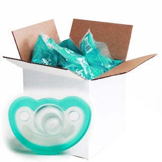 JollyPop Teal Vanilla Scented Silicone Pacifier 0-3 Months