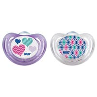 NUK Hearts Airflow Orthodontic Pacifier 6-18 Months (2 Pack)