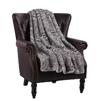 BOON Victoria Faux Fur Reversible Sherpa Throw