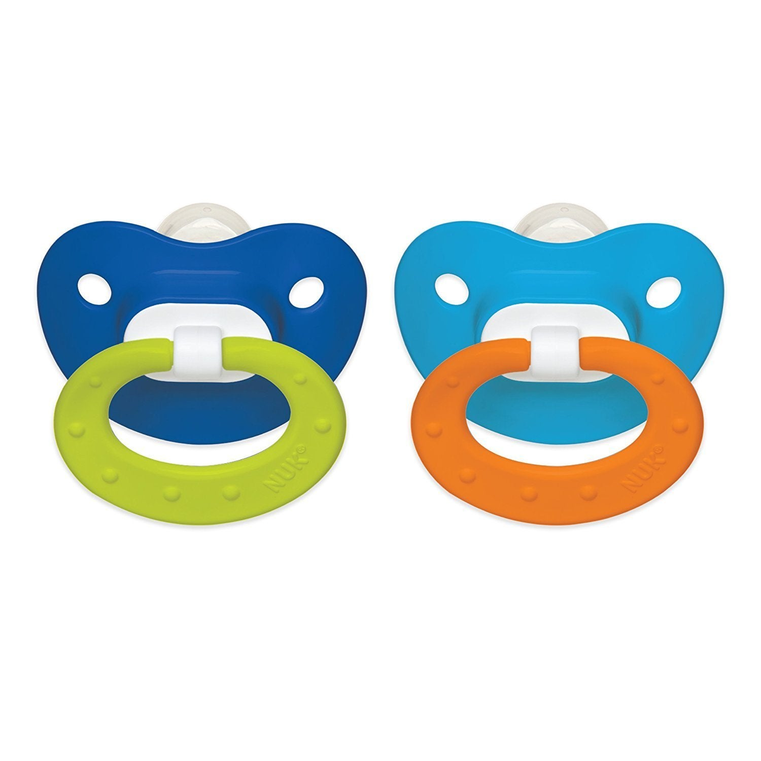 Nu-kote Blue/Blue Juicy 6-18 Months Silicone Orthodontic ...