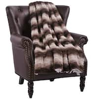 BOON Claire Faux Fur Reversible Sherpa Throw
