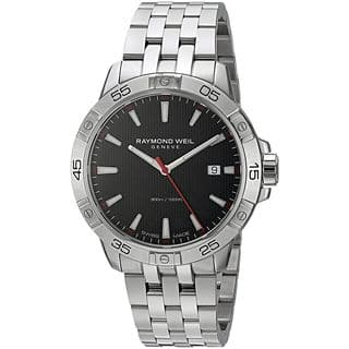 Raymond Weil Men's 8160-ST2-20001 'Tango' Stainless Steel Watch|https://ak1.ostkcdn.com/images/products/14722334/P21251339.jpg?impolicy=medium