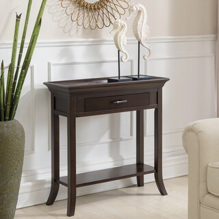 Copper Grove Dillberry Solid Wood Cherry Console Table
