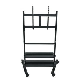 Universal LCD TV Stand with Two Shelves