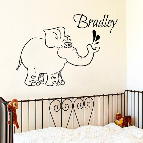 Vinyl Sticker Zane Name Boy Font Type Kids Room Nursery Mural Decal Wall Art Decor EH657
