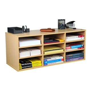 Venture Horizon Home Indoor 9-compartment Organizer Bookshelf