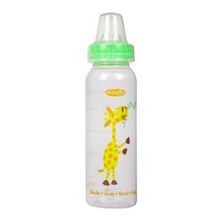 Evenflo Green Zoo Friends 8-ounce Bottle with Standard Nipple