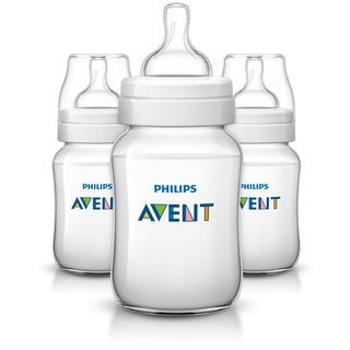 Philips Avent Anti-Colic 9-ounce Baby Bottle (3 Pack)