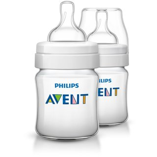 Philips Avent Anti-Colic 4-ounce Baby Bottle (2 Pack)