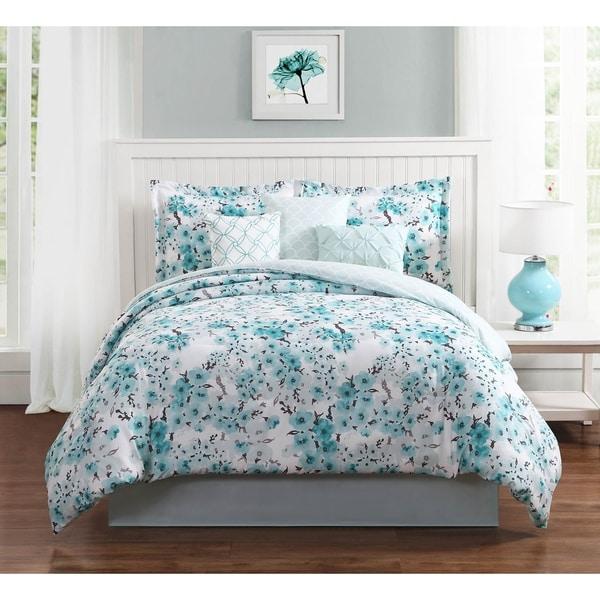 Studio 17 Sakura 7-Piece Comforter Set