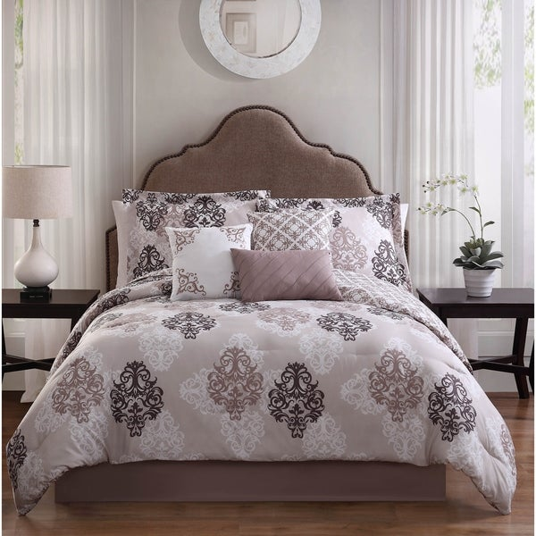 Studio 17 Java 7-Piece Reversible Comforter Set