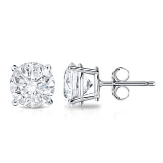 Auriya 18k Gold 2ct TDW 4-Prong Push-Back Clarity-Enhanced Diamond Stud Earrings (E-F, I2-I3)|https://ak1.ostkcdn.com/images/products/14722756/P21251706.jpg?impolicy=medium