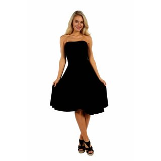 24/7 Comfort Apparel Irresistible Black Party Dress