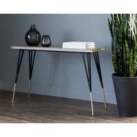 Midori Grey Contemporary Console Table