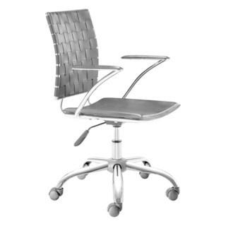 Modern Weave Black Office Chair