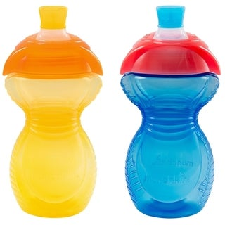 Munchkin Yellow/Blue Click Lock Bite Proof 9-ounce Sippy Cup (2 Pack)