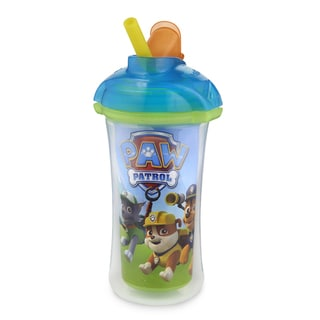 Munchkin Blue Paw Patrol 9-ounce Click Lock Insulated Straw Cup