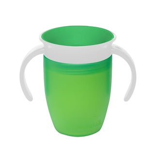 Munchkin Miracle Green 360-degree 7-ounce Toddler Trainer Cup