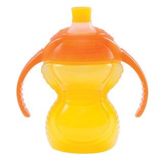 Munchkin Yellow 7-ounce Click Lock Biteproof Trainer Cup