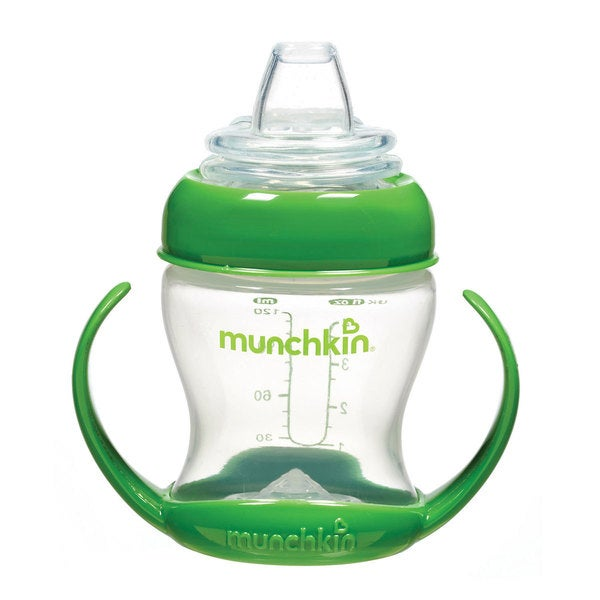 Munchkin Green Flexi-Transition 4-ounce Trainer Cup