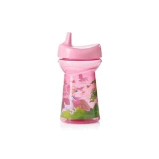 Evenflo Pink Zoo Friends Triple Flo 10-ounce Sippy Tumbler